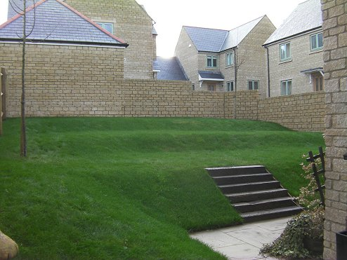 Landscape gardeners swindon wiltshire landscaping garden for Garden design new build house
